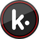 media, Logo, Social, Kik DarkSlateGray icon