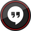 media, Logo, google, Social, Hangouts DarkSlateGray icon