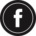 media, Logo, Facebook, Social Black icon
