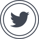 media, Logo, twitter, Social DarkSlateGray icon