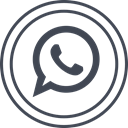 Whatsapp, media, Logo, Social DarkSlateGray icon
