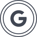 media, Logo, google, Social DarkSlateGray icon