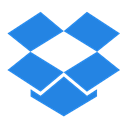 network, dropbox, Logo, Social DodgerBlue icon