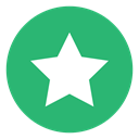 star, green, galaxy MediumSeaGreen icon