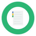 notepad, green, Note MediumSeaGreen icon