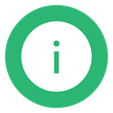 Info, Information, green MediumSeaGreen icon