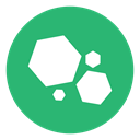 green, Hex, Hexagon, galaxy, planets MediumSeaGreen icon