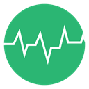 green, Heart Beat, Heart, Beat, heartbeat MediumSeaGreen icon