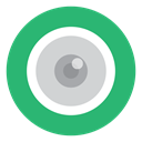 green, Eye, cctv, Camera MediumSeaGreen icon