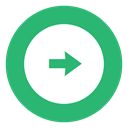 green, right, Arrow, rightarrow MediumSeaGreen icon