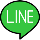 Logo, Social, media, line LimeGreen icon