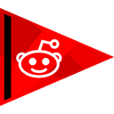 media, online, Reddit, Social Red icon