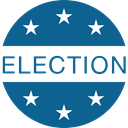 vote, Election, Elections Teal icon