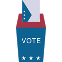 vote, Election, Elections, envelope, Box, Application Teal icon
