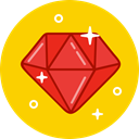 Expensive, gemstone, luxury, diamond, gem, Stone, Jewelry Gold icon