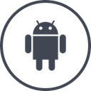 media, online, Social, Android DarkSlateGray icon
