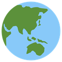 earth LightSkyBlue icon