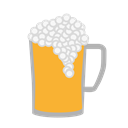 beer, foam, Patrick, Ale, goblet, malt, Suds Black icon