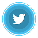 twitter, social media icons SteelBlue icon