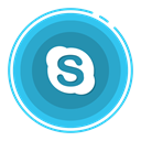 Skype, social media icons Icon