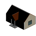 house, Building, Home Black icon