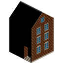 house, Building Black icon