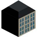 Building Black icon