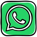 media, phone, speech bubble, Whatsapp, App, Messenger, Social, Communication MediumSeaGreen icon