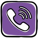 media, phone, App, Call, Social, messages, Communication, Viber SlateGray icon