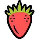 food, strawberry, summer, nutrition Icon