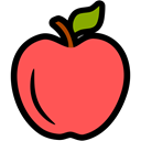 nutrition, food, education, fitness, Apple, health Tomato icon