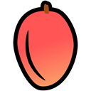 food, Mango, summer, nutrition, tropical Tomato icon