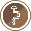 tool, equipment, Construction, Vise Sienna icon