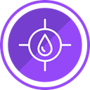 stop, water, Construction, risk BlueViolet icon