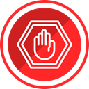 stop, miscellaneous, sign, street, Road Crimson icon