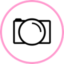 media, web, Social, photobucket LightPink icon