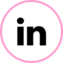 Social, media, web, Linkedin Black icon