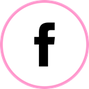 media, web, Facebook, Social LightPink icon