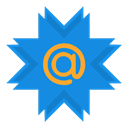 mail, At, Mailru DodgerBlue icon