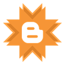 blog, blogger Coral icon