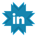 Business, work, job, Linkedin, employment DarkCyan icon