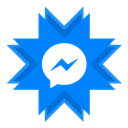 Chat, Messenger, Facebook, im, Instant Messaging DodgerBlue icon