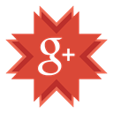 google, Google+, G+, google plus Chocolate icon