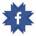 Facebook, fb DarkSlateBlue icon