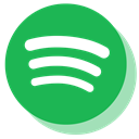 Spotify, media, music, Social MediumSeaGreen icon
