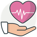 hospital, medicine, healthcare, health, recoverytreatment PaleVioletRed icon