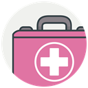 health, hospital, medicine, healthcare, recoverytreatment PaleVioletRed icon