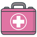 recoverytreatment, health, hospital, medicine, healthcare PaleVioletRed icon