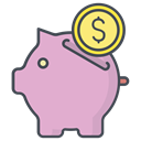 Finance, Money, Shop, online, store, sale, Purchase Plum icon