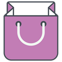 store, Finance, Money, online, Shop, sale, Purchase RosyBrown icon